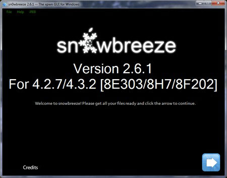 snow261 Jailbreak News   Sn0wBreeze passe en version 2.6.1
