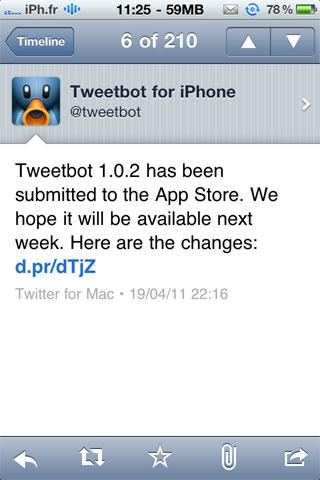 tweetbot AppStore   Une nouvelle version de Tweetbot arrive