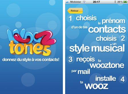 wooztones donnez du style b vos contacts 1 Wooztones : donnez du style à vos contacts !