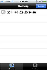 xbackup1 [CYDIA] Liste des tweaks compatibles iOS 5.1.1