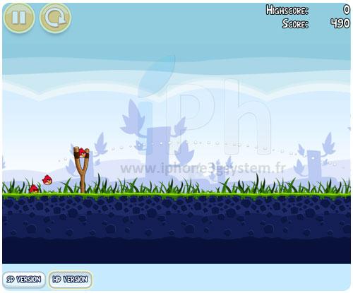 14 News   Angry Birds : Disponible depuis un navigateur web