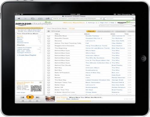 Amazon.Cloud .Player.iPad .Landscape.05082011 500x392 News   Amazon Cloud Player compatible iOS