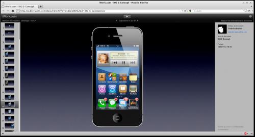 Capture iWork.com iOS 5 Concept Mozilla Firefox 500x269 Concepts   WWDC 2011 : Le diaporama des nouveautés iOS 5