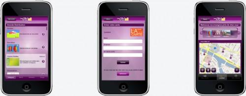 Ecrans appli fidall 500x196 AppStore   Fidall : Vos cartes de fidélité sur iPhone
