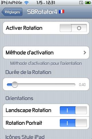 IMG 0146 iPhRepo   Mise à jour de SBRotator for 4.x FR en version 1.62