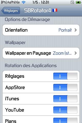 IMG 0148 iPhRepo   Mise à jour de SBRotator for 4.x FR en version 1.62