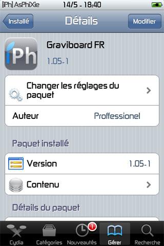 IMG 0226 iPhRepo – Ajouts de iGotYa FR 1.0.22 et Graviboard FR 1.05 1