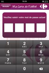 IMG 0471 160x240 AppStore   Avoir sa carte de fidélité Carrefour toujours sur soi !