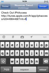 IMG 0490 160x240 Cydia   ShareApp, recommander une application de lAppStore via Twitter/Mail