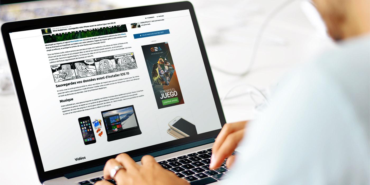 MacBook Mockup article Annoncer sur AppSystem
