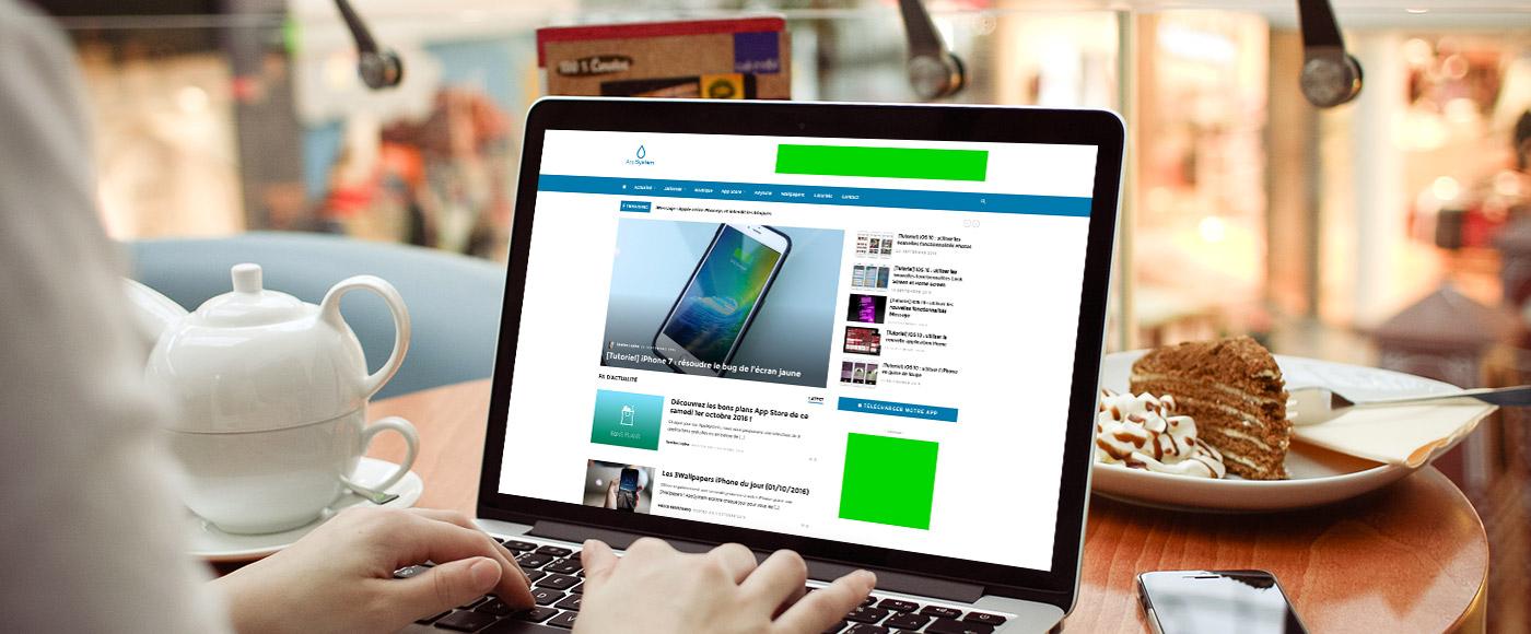 MacBook Pro PSD Mockup formats Annoncer sur AppSystem