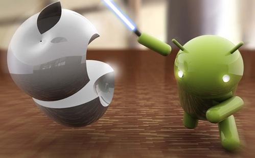 android vs apple News   Les professionnels préfèrent Apple à Android