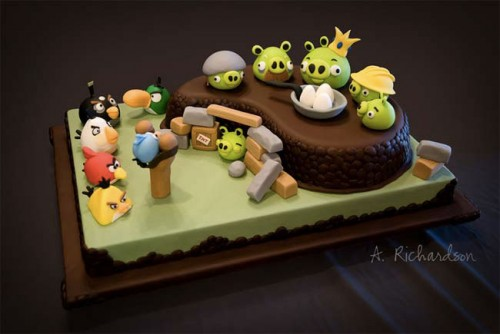 angry 500x334 News   Un Angry Birds plus vrai que vrai
