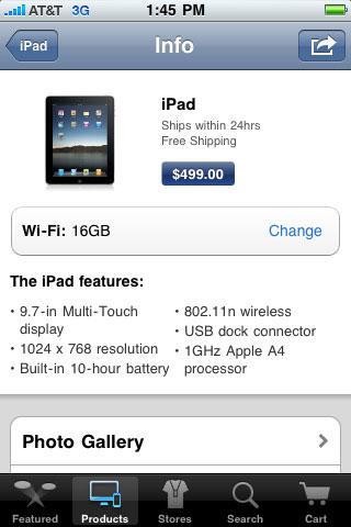 appstore News   Vers une mise à jour de lapplication Apple Store ?