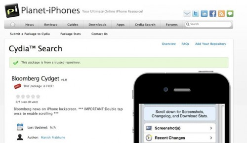 cydiasearch 500x290 News   Faites des recherches dans Cydia avec Cydia Search