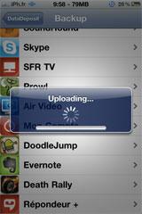 datadeposit6 Cydia   DataDeposit sauvegarde vos données dapplications sur le cloud