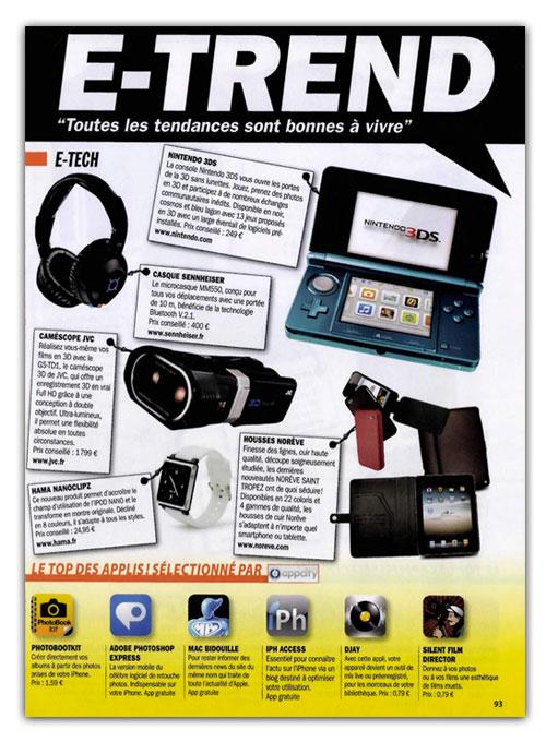 entrevue News   iPhAccess sur le magazine Entrevue n°226 Mai 2011
