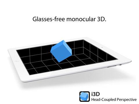 i3d News   i3D : de la 3D sur iPhone et sans lunettes