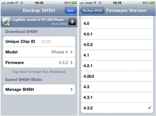 iSHSHit iPhone 500x372 Cydia   iSHSHit mis à jour pour prendre en charge la sauvegarde des SHSH iOS 4.3.3