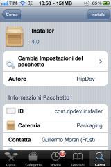 instaler2 Cydia   Installer est désormais compatible 4.x