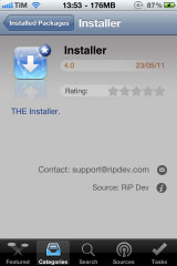 installer Cydia   Installer est désormais compatible 4.x