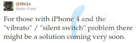 ionictwitter2039 Jailbreak News   i0n1c affirme avoir résolu le problème avec le bouton mute après le jailbreak de liOS 4.3.1