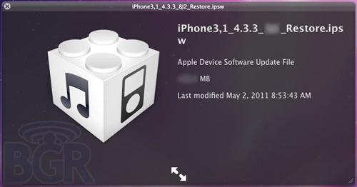 ios433 News   LiOS 4.3.3 est en approche