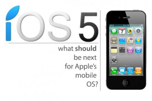 ios51 Rumeur   iOS 5 Over The Air : Les Mises à Jour sans iTunes ?
