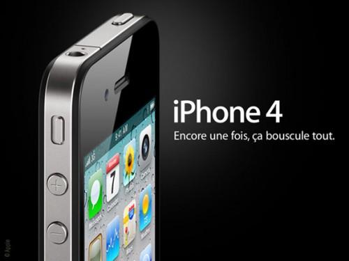 iphone 4 2010 1 500x375 News   Apple réduit la production diPhone 4 pour laisser place à liPhone 5 ?