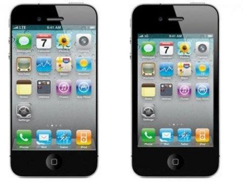 iphone 5 vs iphone 4 News   Toshiba présente un écran de 4 pouces 720p