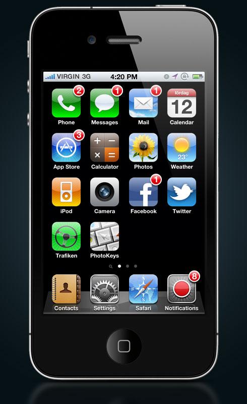 News   Un nouveau concept des notifications push sous iOS 5