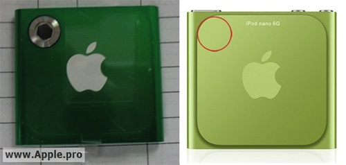 ipodnano7g APN Rumeurs   Un appareil photo de 1,3 mégapixels pour liPod Nano 7G ?
