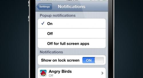 notifications settings 500x273 News   Un nouveau concept des notifications push sous iOS 5