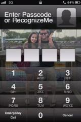 recognizeme 1 160x240 Cydia   RecognizeMe : Reconnaissance faciale sur iPhone disponible [CRACK]