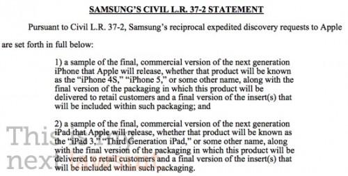 samsung5643843 500x253 News   Samsung demande de voir des prototypes diPhone 5 et iPad 3