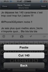 twitter4 [CYDIA] Liste des tweaks compatibles iOS 5.1.1