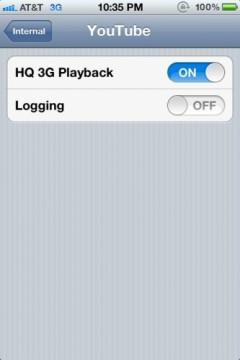 13 Brève   Lire des vidéos YouTube HD en 3G ?