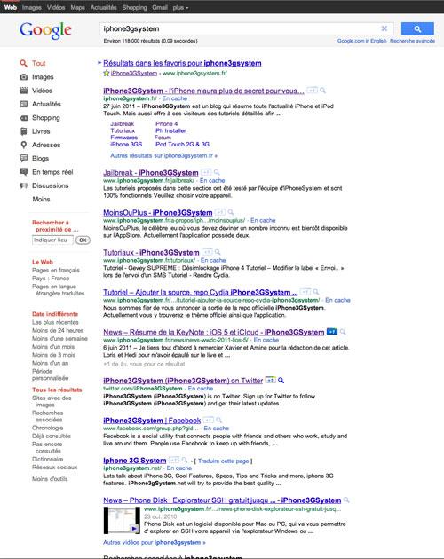 1google web1 News   Changement graphique et fonctionnel pour Google