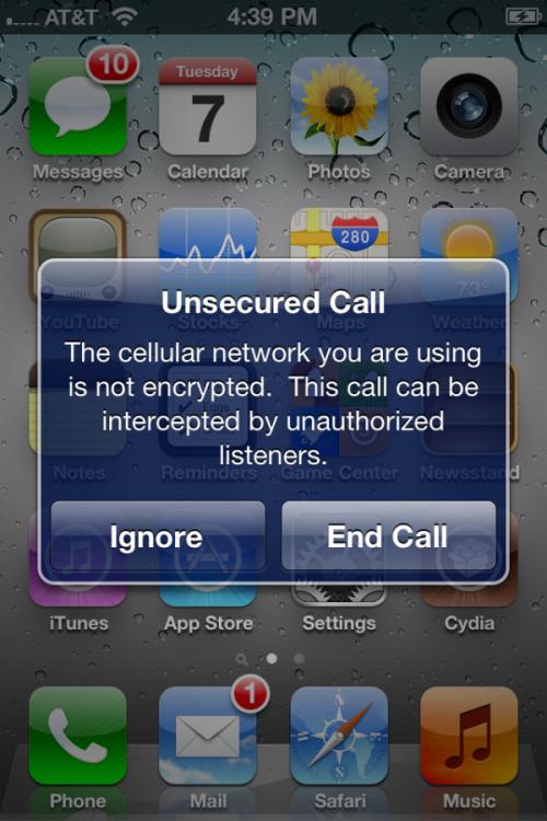 3165112901 500x750 News iOS 5   Une popup vous avertit lorsque vous passez un appel non sécurisé