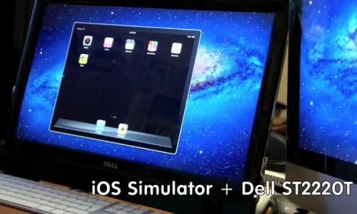 6384864 500x301 News   LiOS simulé sur un écran tactile possèdant Mac OS