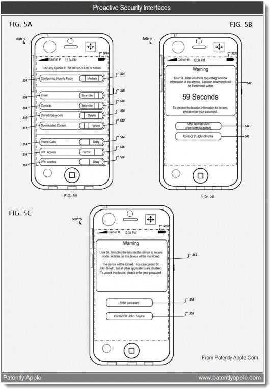 6a0120a5580826970c01538f3a42e0970b 800wi 530x7671 Brevet   Bientôt une MAJ pour lapplication Localiser mon iPhone ?