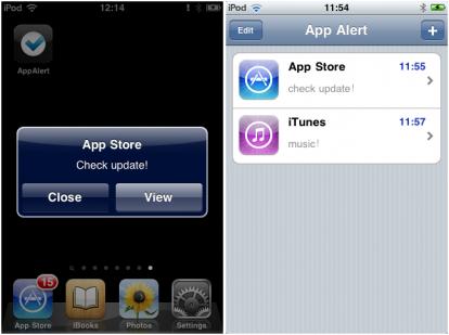 AppAlert Cydia   Personnalisez des alertes sur une application avec AppAlert [Dispo sur la repo]