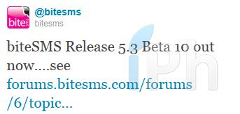 Sans titre 1 Cydia   La dernière bêta de BiteSMS 5.3 disponible