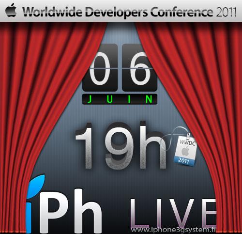 WWDC2011 iPhone3GSystem News   WWDC 2011 : Informations relatives au LIVE !