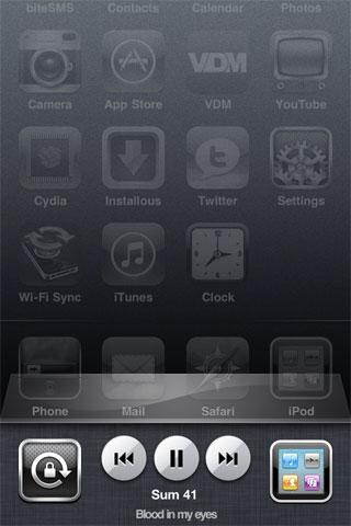 artistswticher1 Cydia   Artist Switcher : Affichez le nom de lartiste dans le dock multitâche