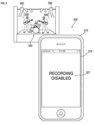 brevetapple17062011 News   Brevet : Apple bloque la capture des concerts