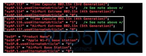 capsuleios 500x195 News   De nouvelles Time Capsule spéciales iOS 5 pour bientôt ?