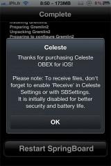 eleste3 160x240 Cydia   Cocoanuts publie Celeste  1.0 73 et Gremlin2