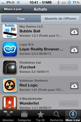 icloud2 News   iCloud déjà disponible via lApp Store