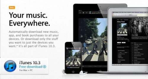 itune10.3 500x267 News   iTunes 10.3 disponible au téléchargement